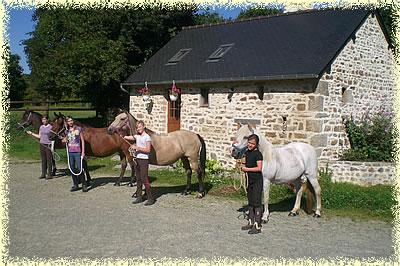 Poney club non loin de Paris